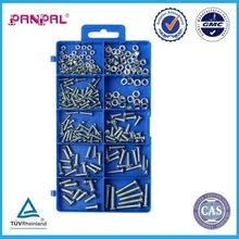 BSCI Approved china factory Hardware Assorted 275PC Machine Screw & Nut Set
