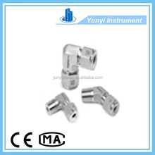 cng dispenser double ferrule ss316 tube fittings straight male connector tube fittings