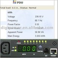 kWh PDU 16 Amp 230V remote switch outlet