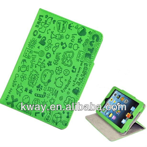 Cute Faerie Design Folio Leather Case Cover For iPad mini KSH193