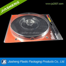 plastic CD blister packaging with color card