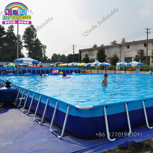 Fantastic Metal Steel Frame Structural Swimming Pool,Metal bracket pool made in guangzhou