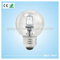 g25 energy saving halogen lamp