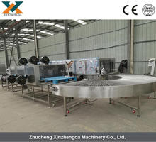 Efficient Industrial Transporting Vegetable Tray Washers
