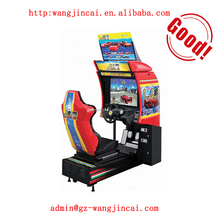 coin operated HD video racing machines 3D outrun car electronic online game machine