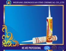 Good adhesion GP Acid Silicone Sealant used for construction sealing