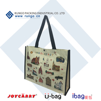 Shopping Bag Use and PP Woven Material, PP Woven Tote Bag