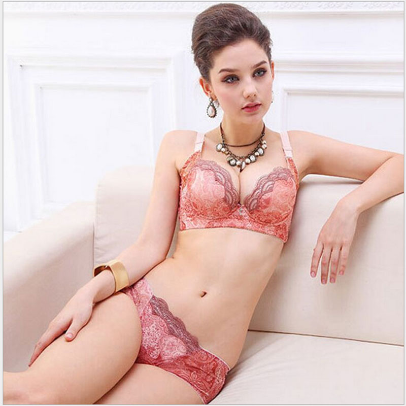 Sexy comfortable small chest upright bra
