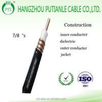 50 ohm RF coaxial cable 7/8''s for telecommunication made in China
