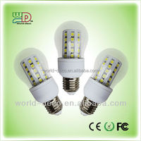 Guangzhou high lumens samsung led chip e27 / b22 led bulb lamp manufacturer