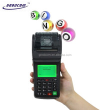 New Product Handheld Machine with GSM Receipt Printer For Lottery Betting Solutions