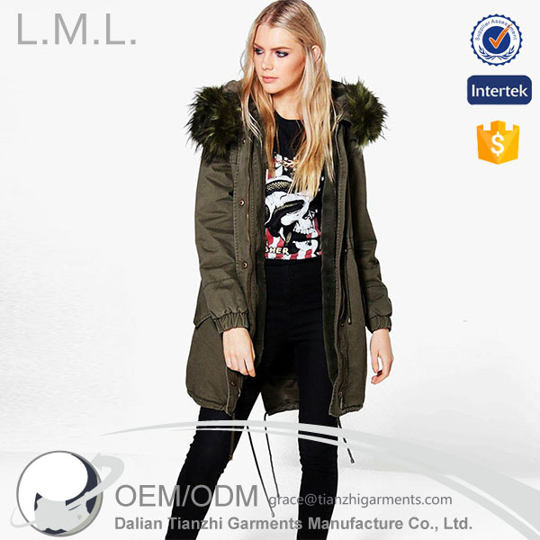Fashionable women in the long section can be dismantled imitation fur coat oversized fur collar fox fur casual coat cotton tide