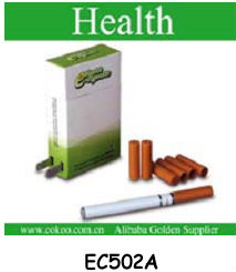 Rechargeble green and health electric cigarette mini e cigarette with a similar figure to traditional cigarette