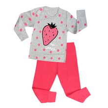Children sleeping wear manufacture custom 100% cotton kids pajamas