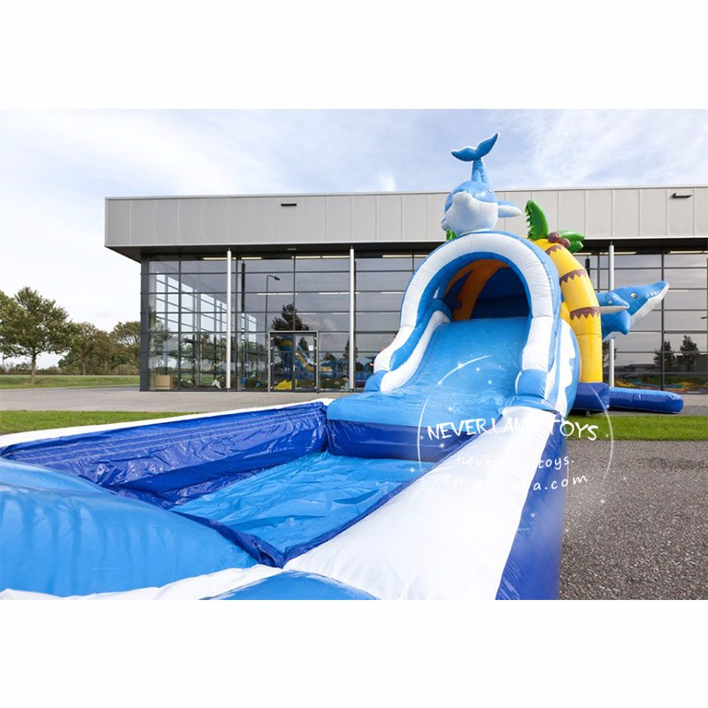 Commercial Inflatable bounce house with slide inflatable combo with pool