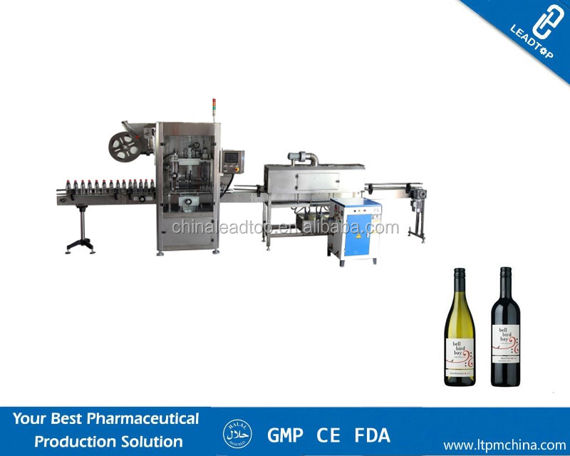 HT-small Doses PET Dropper Bottle Filling Capping and Labeling Machine for Production Line