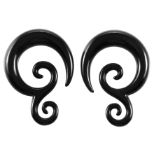 Piercing Body Jewelry Acrylic Cheater Twist Ear Spiral Ear Taper Gauges Ear Expander