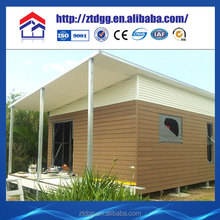 EPS sandwich panels low cost portable bungalow from China manufacturer