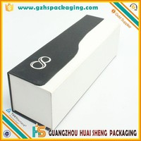 unique design individual white paper wine bottle gift boxes for sale