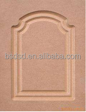 3D Wave MDF Wall Board for Decoration 3-30 mm thick