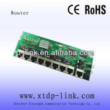 soho 8 port router board pcba module network manufacturer