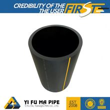 Competitive price sdr17 200mm irrigation pe water and gas pipe