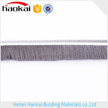 Waterproof Easy installation weather stripe with fin/wool pile/seal brush
