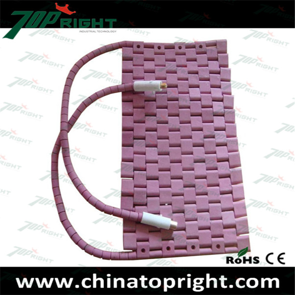 High quality ceramic heating pad heater Crawler-type Ceramic Heater