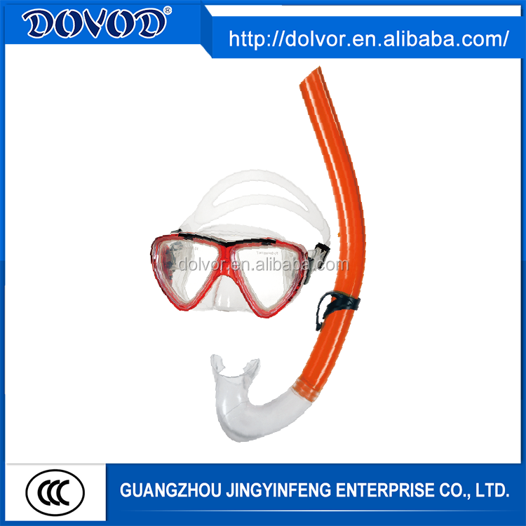 Diving & swimming use diving equipment swimming mask and snorkel set