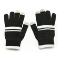 Fashion Touch Screen Winter Outdoor Warm Knit Mitten Gloves