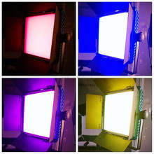 RGBW color changing film shooting equipment similar to arri skypanel 2800K-9990K, 95RAfor interview, tv, shooting