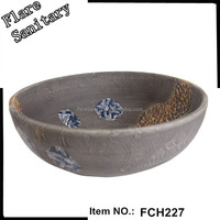 ceramic counter top basin corner bathroom sink
