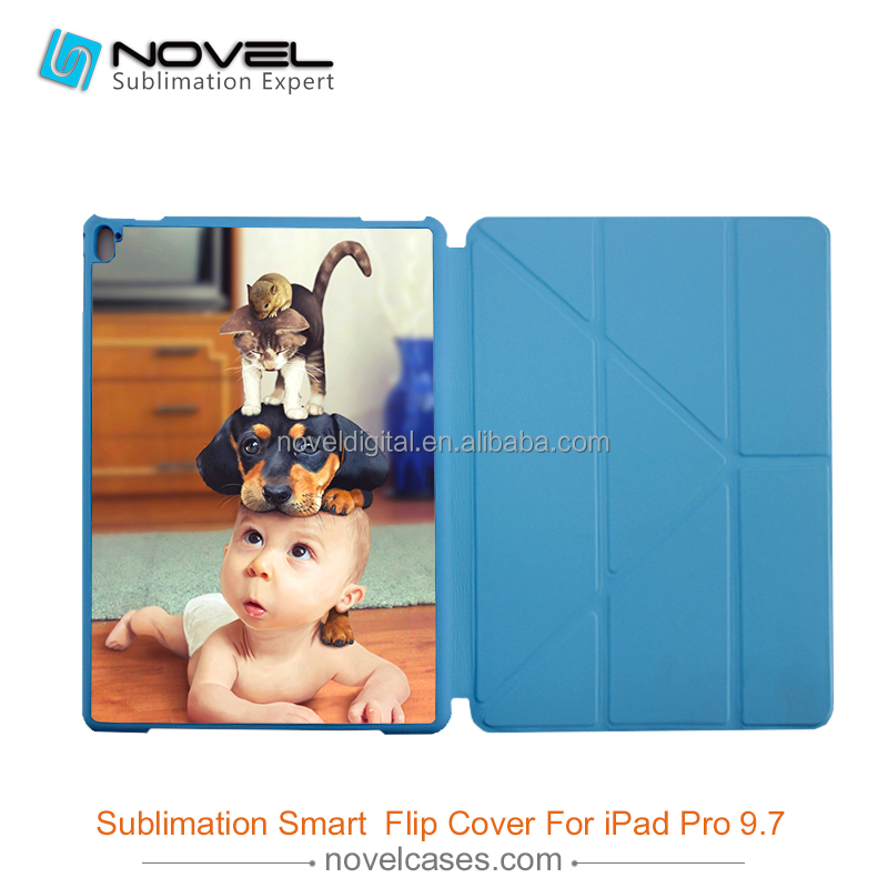 Sublimation smart filp cover for iPad Pro 9.7""