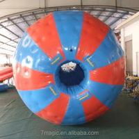 inflatable zorb ball ,play on the snow grass ,outdoor play ground