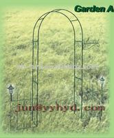 Garden Arch with solar light