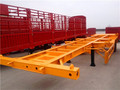 Hot sale 2 axle container semi trailer , skeleton container semi trailer
