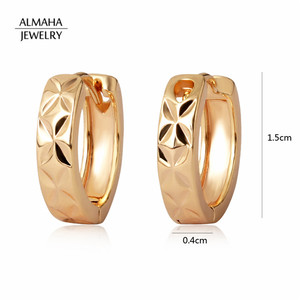 Gold Plated Minimalist Jewelry Gold Indian Thread Earrings Women Without Stone