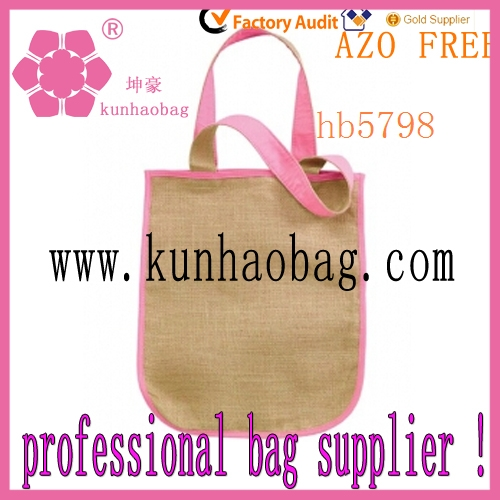 yiwu factory small jute tote bags for child