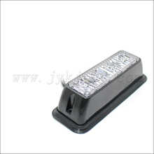 New arrival red/blue/amber/green 4LED auto LED strobe lights, grille emergency flash warning LED strobe light