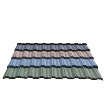 SunColorful Stone Coated Metal Roofing Tile/Africa Colorful Stone coated metal roof tile/