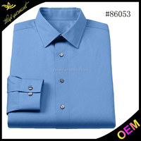 Dark blue new model shirts with pure colors