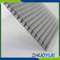 price of polycarbonate roofing four-wall hollow sheet in kerala price