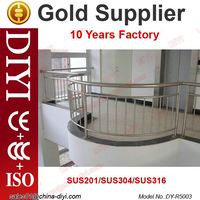DY-R5003 balcony stainless steel railing design balcony railing designs handrail