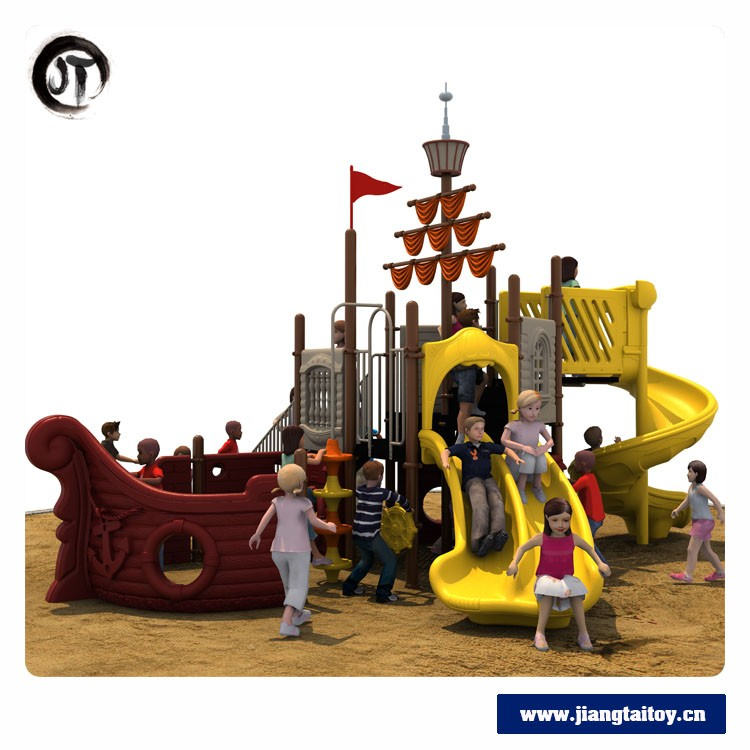 JT17-4301 China Supplier High Quality Pirate Ship Kids Outdoor Playground Equipment Product For Sale