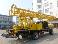 2015 best price trailer mounted water well drilling rig