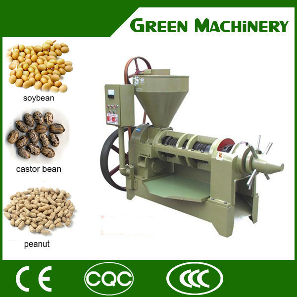 Hydraulic coconut caster seeds oil presser