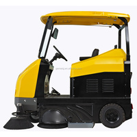 GEIMEI S9 vacuum street sweeper/road cleaning truck/electric wet floor cleaner/road sweeper brush/Park Sweeper/Electric