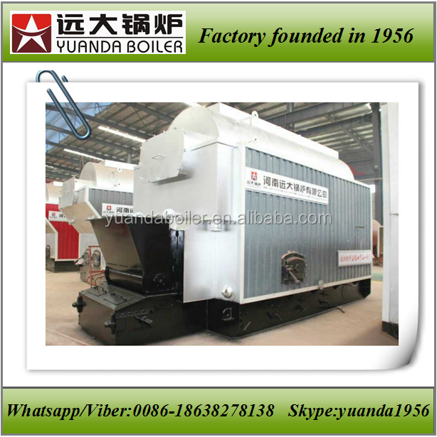 High thermal efficiency industrial coal fired steam boiler small