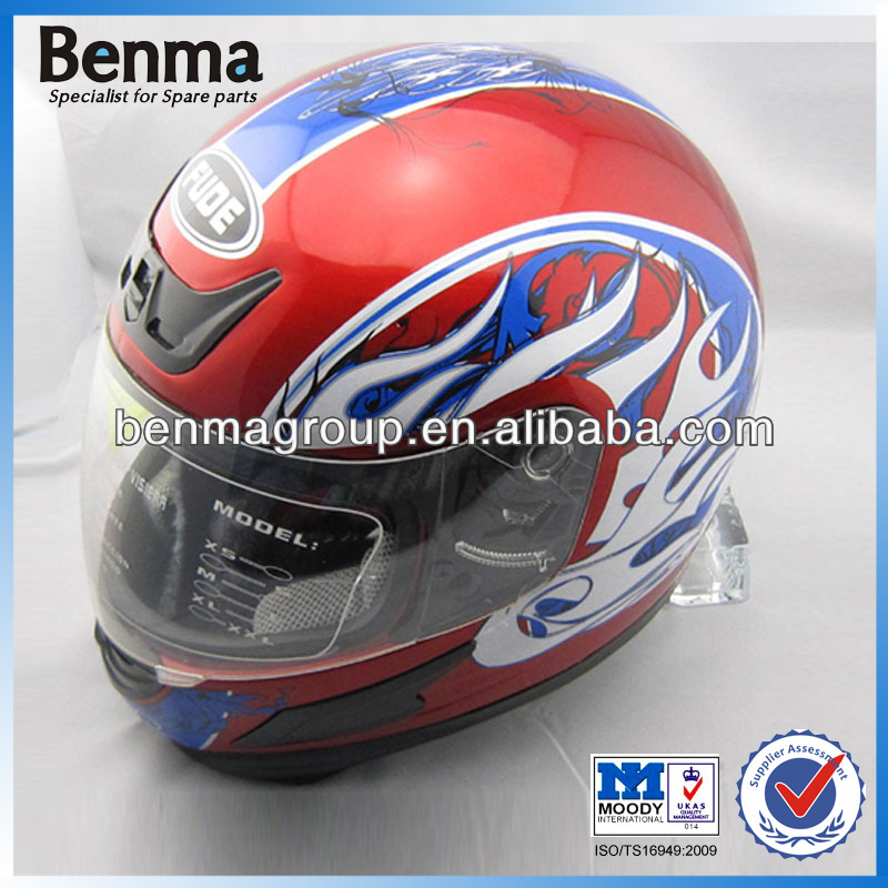 Best ECE Motorcycle Helmet Red Color, Motorcycle ABS Helmet for Winter, Full Face Motorcycle Helmet with Scarf Wholesale!!