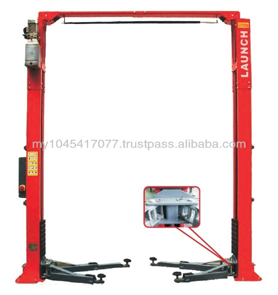 LAUNCH TLT235SCA Clearfloor Two Post Lift